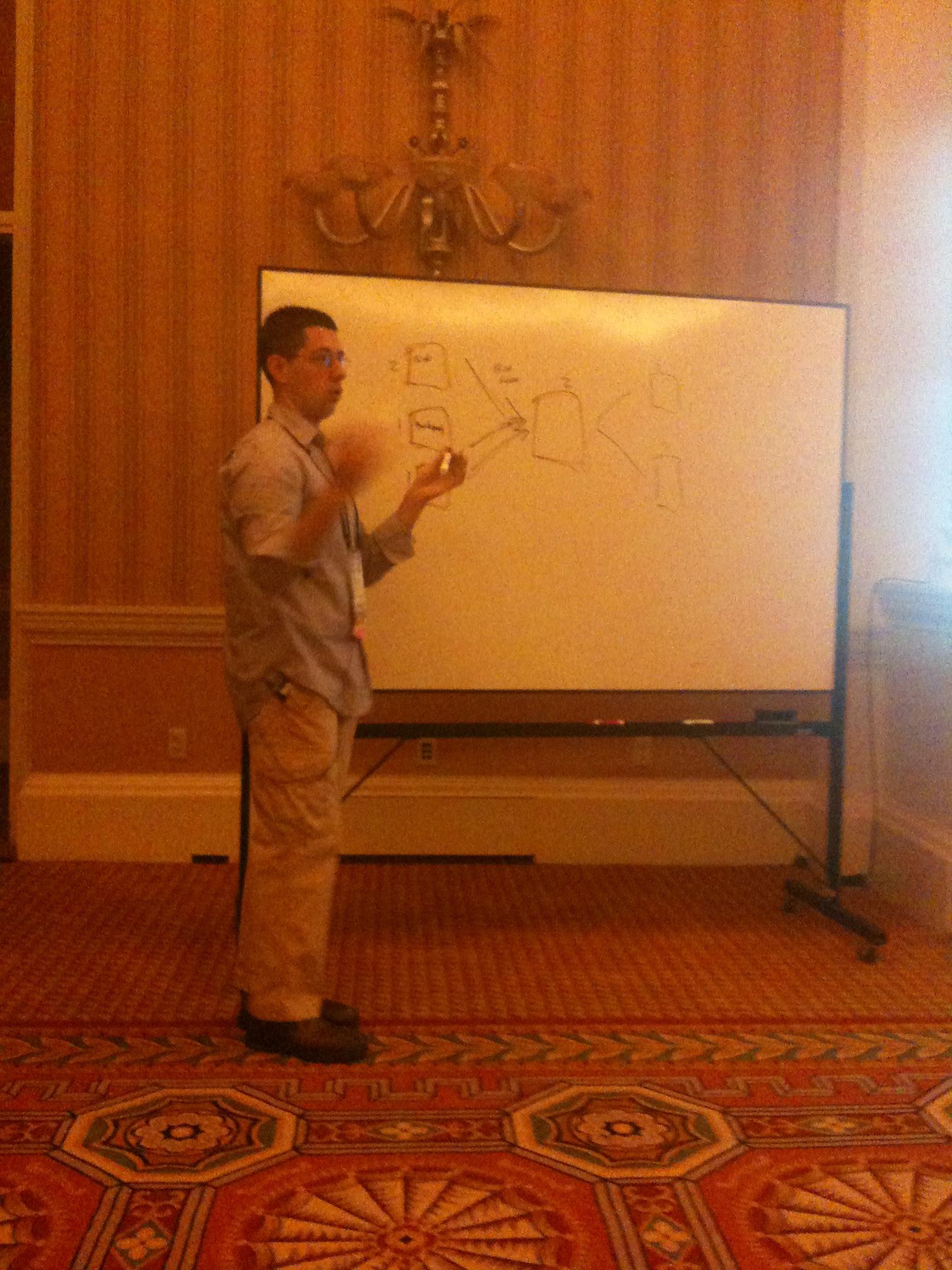 Whiteboarding with Eric Nagel
