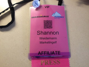 Affiliate Summit West 2013 Badge