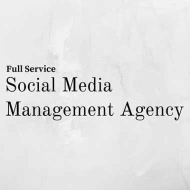 Full Service Social Media Management Agency